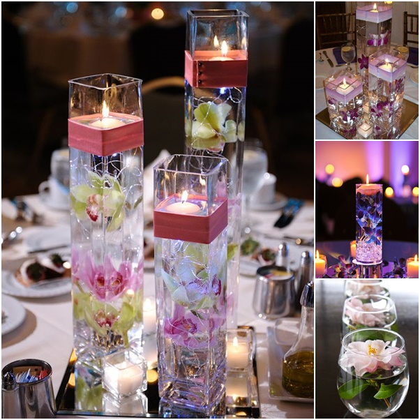 Homemade-Floating-candle-centerpiece