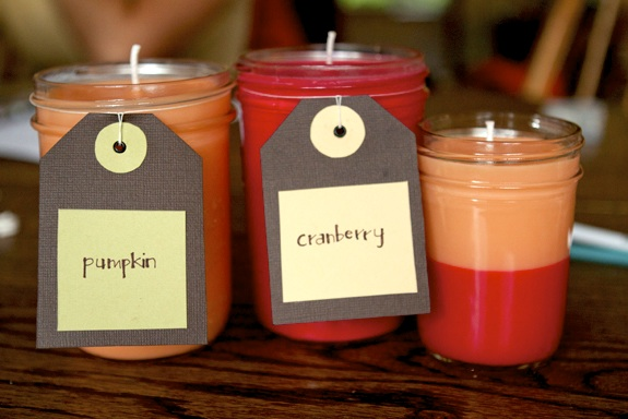 making scented candles at home